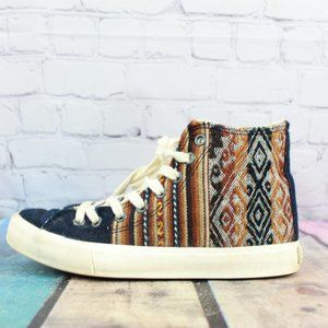 INKKAS  Handmade Knit High Top Sneakers  L 5 / M 3